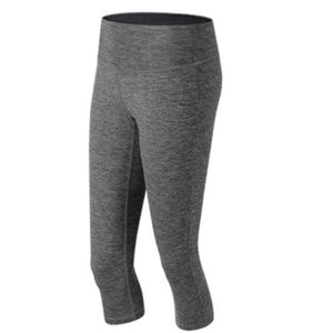 New Balance Novelty Fabric Capri Leggings